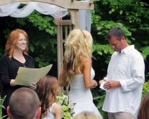 Wedding Knots Tied - wedding officiant